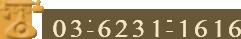 03-6231-1616
